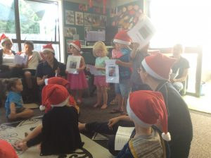 The children love singing at Play to Learn