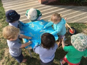 A little bit of messy play has a lot of learning potential